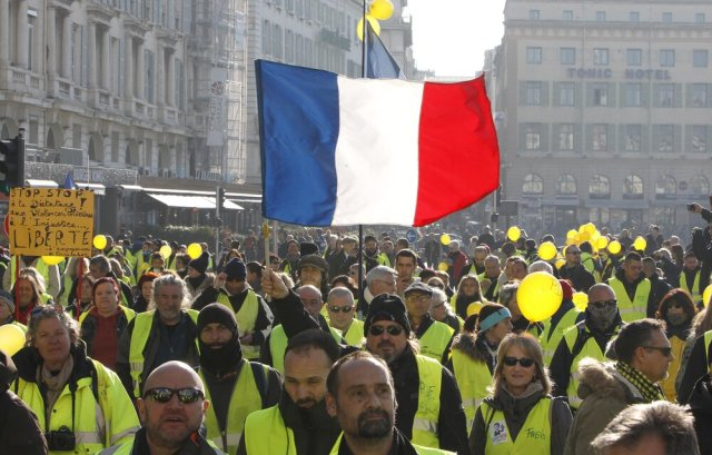 Gilets Jaunes Protests